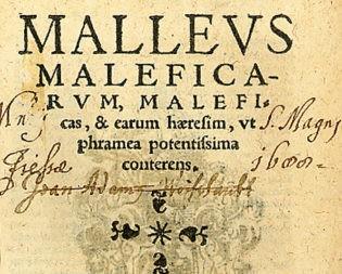 """""""Чукът на вещиците"""" (Malleus Maleficarum)"""